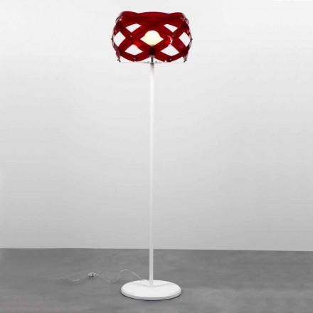 Standerlampe moderne design i Vanna methacrylat, H 187 cm