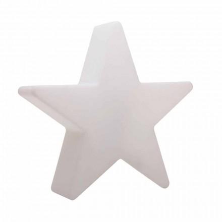 Hvid eller rød stjerne form gulvlampe, moderne design - Ringostar