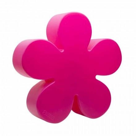 Gulv- eller bordlampe i form af en farvet blomst, solangreb - Fiorestar