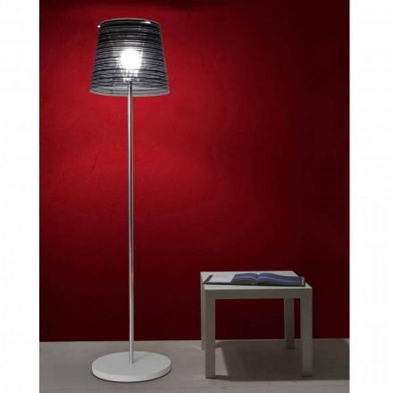 Gulvlampe blænding skygge og farverig indretning, Shana H183cm