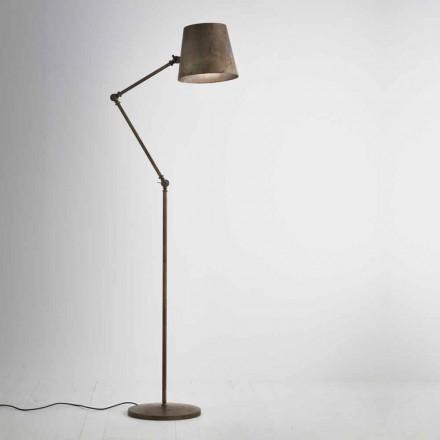Lampe justerbar industrielle stil jord Reporter Il Fanale