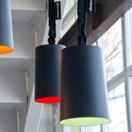 Vedhæng design lampe In-es.artdesign Paint Resin tavle