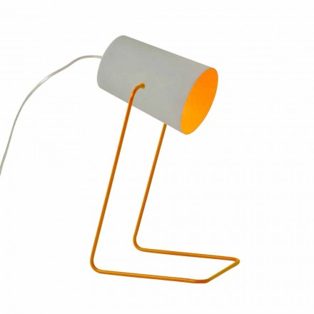 Borddesign lampe In-es.artdesign Paint T beton effekt