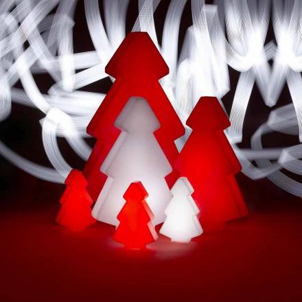 Dekorativ udendørs lampe Slide Lightree juletræ lavet i Italien