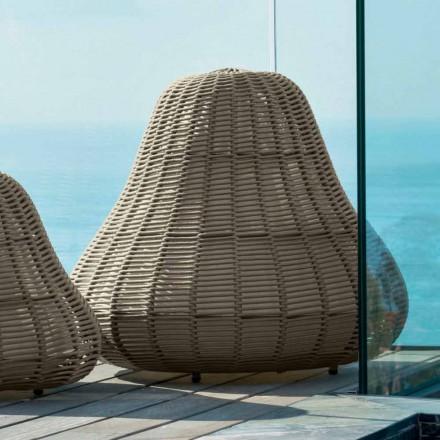 Stor lampe med moderne design Jackie af Talenti i syntetisk ledning