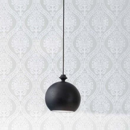 keramiske lampe Den Lustri 5 Aldo Bernardi, med roset 1 udgang.