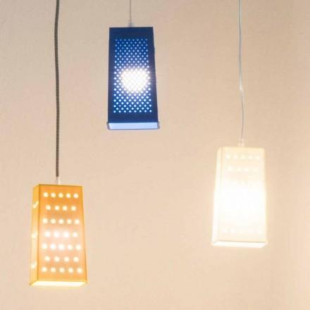 Suspended laprene lampe In-es.artdesign Cacio & Pepe 2 farvet