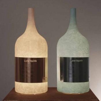 Bordlampe i farvet nebulit In-es.artdesign Luce Liquid1