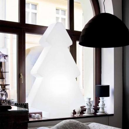 Tavle / gulv indvendig lampe Slide Lightree juletræ lavet i Italien