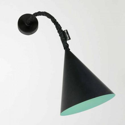 Moderne væglampe In-es.artdesign Jazz med harpiks tavle