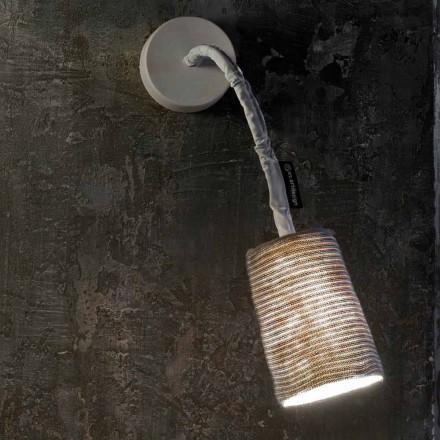 Moderne væglampe In-es.artdesign Mal en stripe nebulit og uld