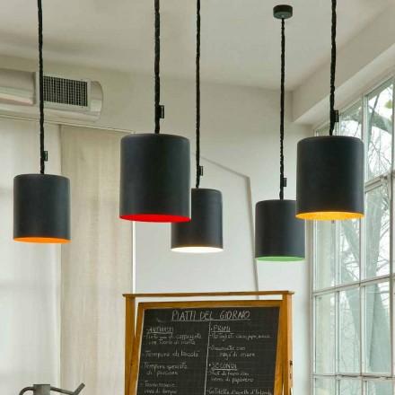 Moderne vedhængslampe In-es.artdesign Bin Resin tavle