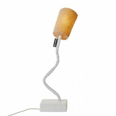 Moderne bordlampe In-es.artdesign Paint T Stripe i uld