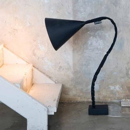 Moderne gulvlampe In-es.artdesign Flower Blackboard i harpiks