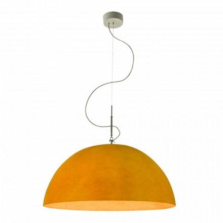 Moderne lampe In-es.artdesign Mezza Luna Suspenderet nebulit