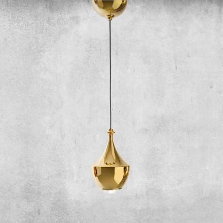 LED ophængt keramisk lampe fremstillet i Italien - Lustrini L3 Aldo Bernardi