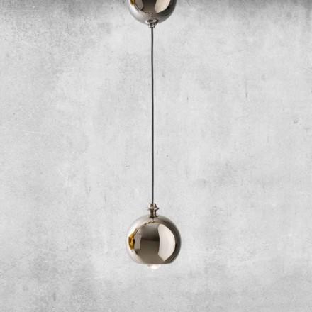 Moderne ophængt lampe i keramik fremstillet i Italien - Lustrini L5 Aldo Berrnardi
