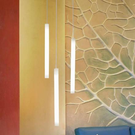 Hanging Flux Hængende designlampe i methacrylat