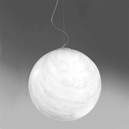 Moderne vedhængslampe i polyethylen Slide Mineral