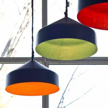 Ophængt designlampe In-es.artdesign Cyrcus Resin tavle