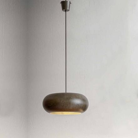 Hængt lampe i ståldiameter 500 mm - Materia Aldo Bernardi