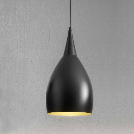 Moderne hængende lampe i aluminium fremstillet i Italien - Cappadocia Aldo Bernardi