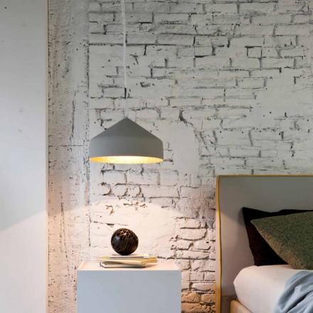 Moderne ophængt lampe In-es.artdesign Cyrcus Malede cement