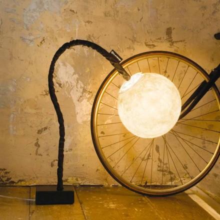 Fleksibel gulvlampe In-es.artdesign Micro Luna nebulite