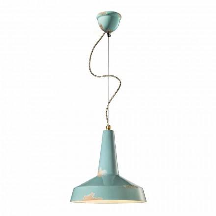 retro stil håndlavede loftlampe Ferroluce