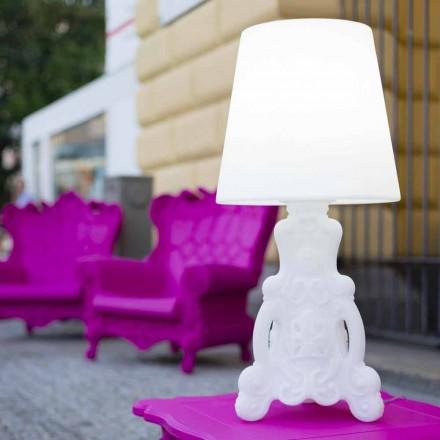 Slide Lady of Love bordlampe med lyst design lavet i Italien