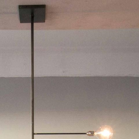 Artisan Design lysekrone med jernkonstruktion fremstillet i Italien - Tinna