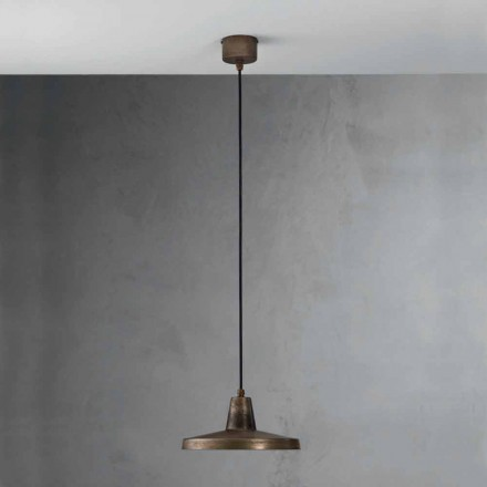 Industrielt design stil lysekrone Monica antik jern