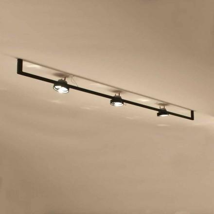 Moderne håndlavet lysekrone med jernkonstruktion fremstillet i Italien - Pamplona