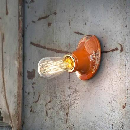 Lysekrone loftet håndværk retro design Ferroluce Vintage