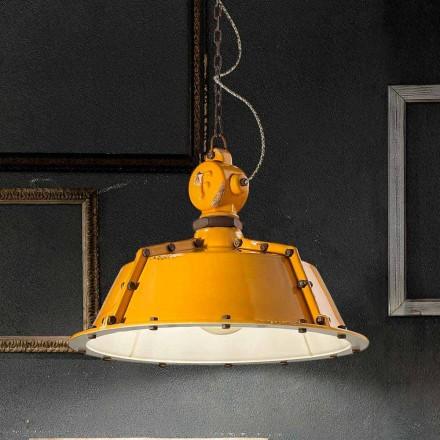 industrielle stil lysekrone vintage klokke Jillian Ferroluce