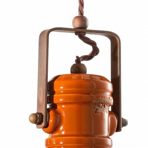 Chandelier design vintage håndlavet keramik Cameron Ferroluce