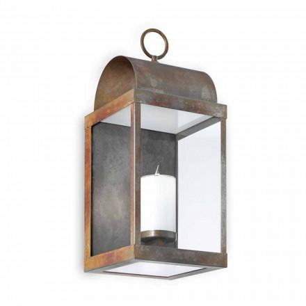 Wall Lantern Udendørs jern eller messing Il Fanale