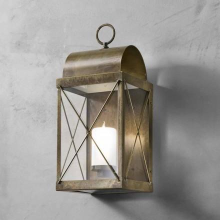 lille lanterne udendørs jern eller messing Il Fanale