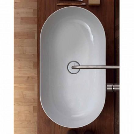 Håndvask 70x35cm lavet af keramik Italien stjerne lavet, moderne design