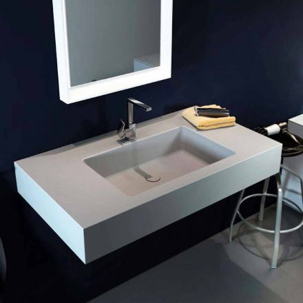 Design moderne vedhængsvask i Luxolid lavet 100% i Italien, Ruffano