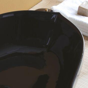 Skinnende Keramisk Bordplade Håndvask Lavet i Italien - Oscar