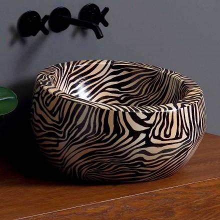 Moderne keramiske håndvaske lavet i Italien af Elisa