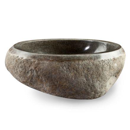 Håndvaskhåndvask i moderne flod natursten - Aurea