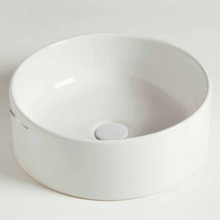 Moderne cirkulær bordplade i keramik fremstillet i Italien - Rotolino