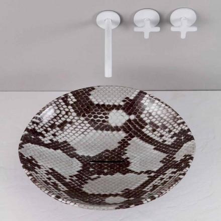 Countertop keramisk design håndvask lavet i Italien Dyr