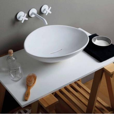 Trendy design keramisk håndvask lavet i Italien