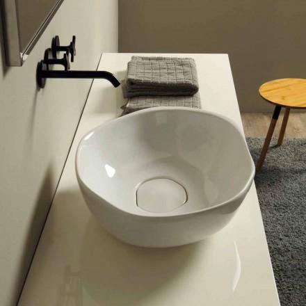 Design keramisk håndvask lavet i Italien Stem