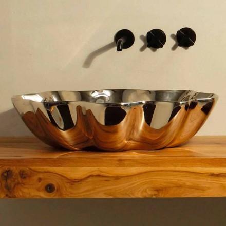 Moderne design keramisk håndvask lavet i Italien Cubo