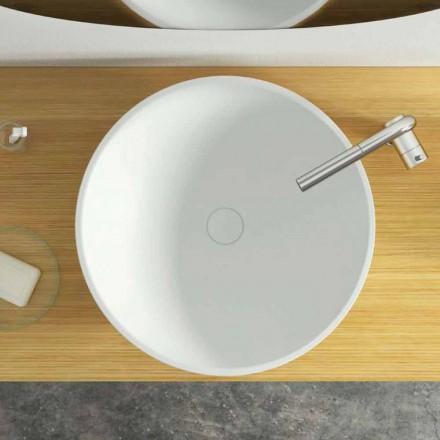 Moderne design cirkulær bordvask lavet i Italien, Donnas