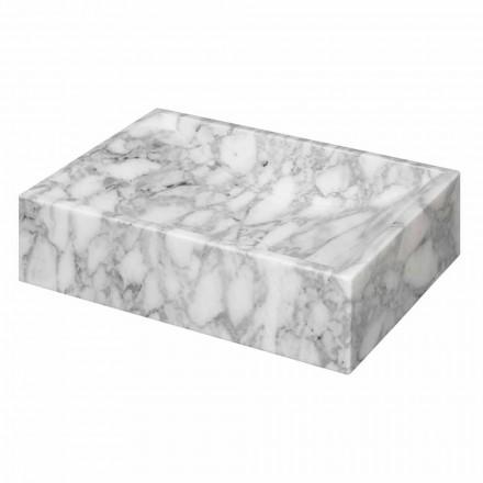 Firkantet marmor af Carrara bordplade Ma de i Italien - Canova